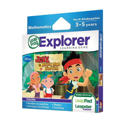 Leap Frog Explorer Learning Game: Jake And The Never Land Pirates